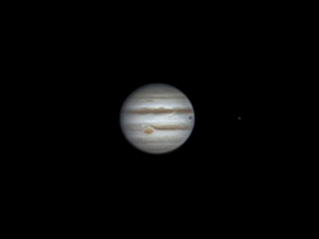 Jupiter, Europa (25 march 2015, 22:18)
