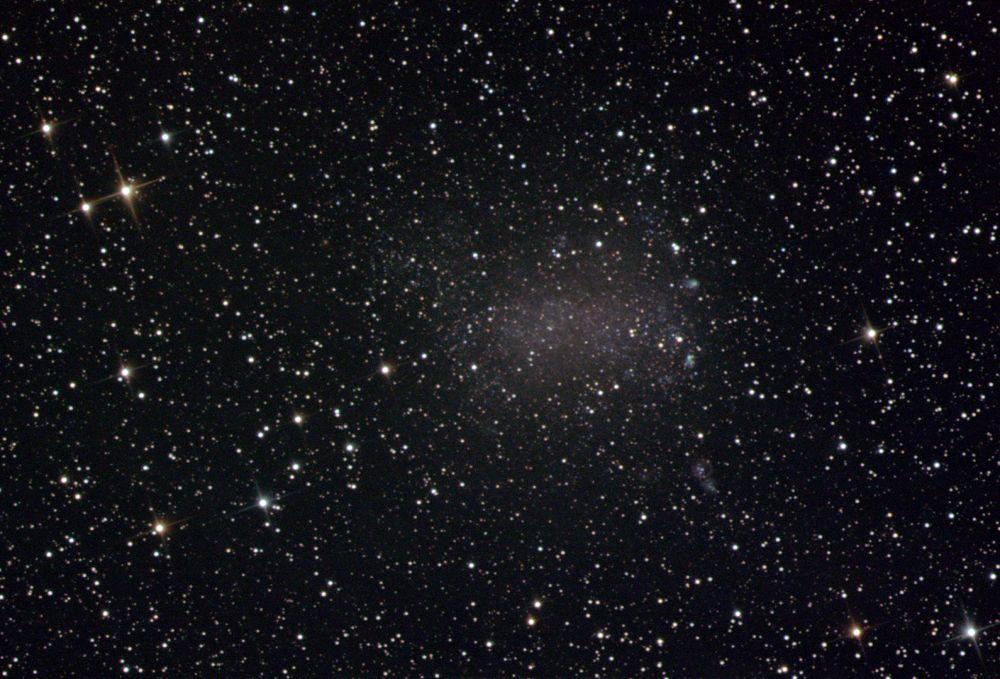 NGC 6822 Галактика Барнарда