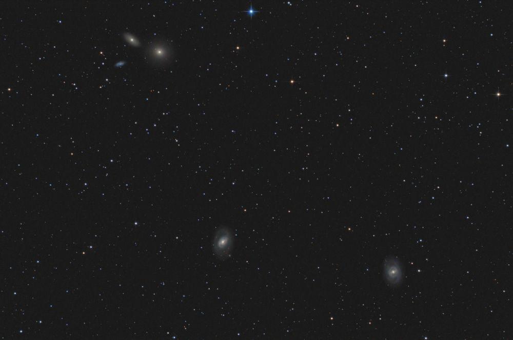 Leo Galaxy Group - M95, M96, M105, etc.