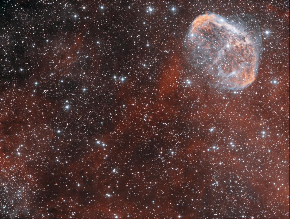 NGC6888+Soap Bubble HOO