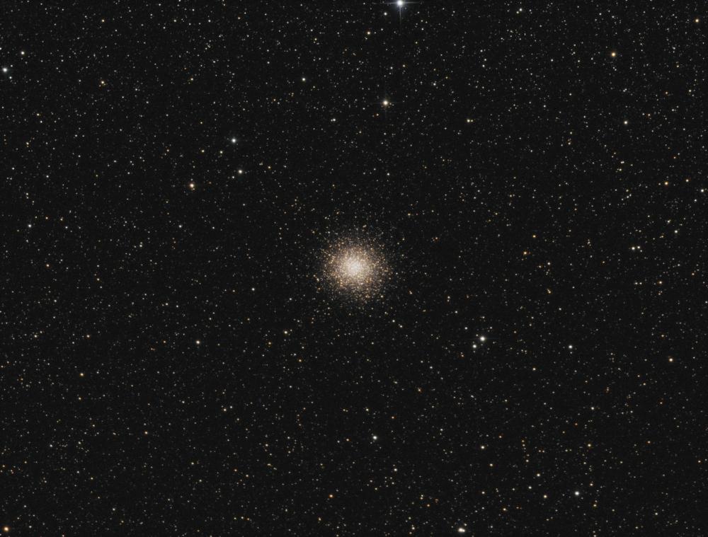 M 14 Ophiuhus globular cluster LRGB