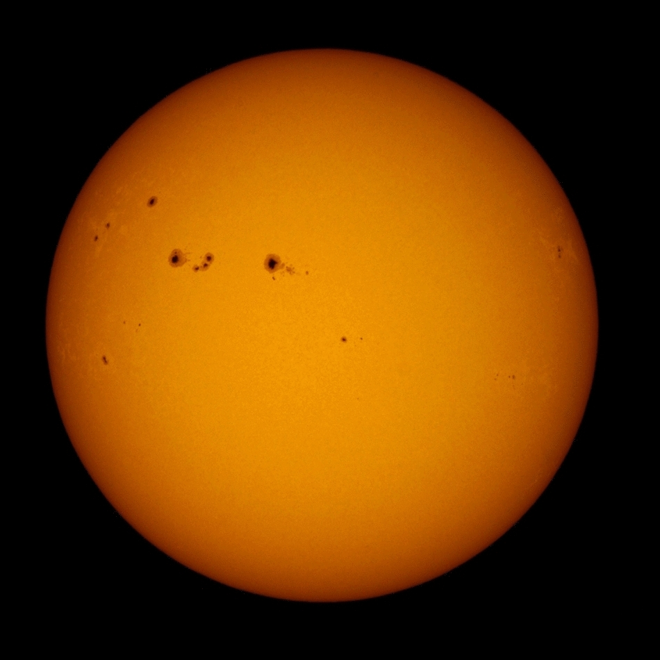 Sun with Baader Astrosolar filter and in H-alpha