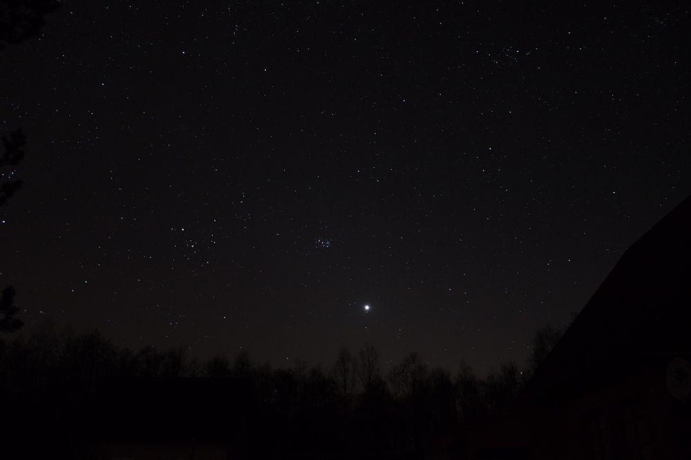 Венера среди звезд 26.03.2020