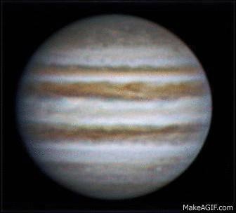 Rotation of Jupiter, 5 feb 2013, 21:38-21:55