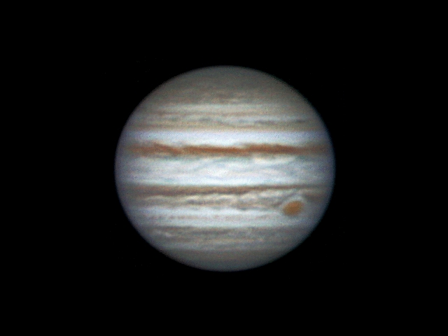 Rotating of Jupiter 2013-12-28 (00:29-00:53)