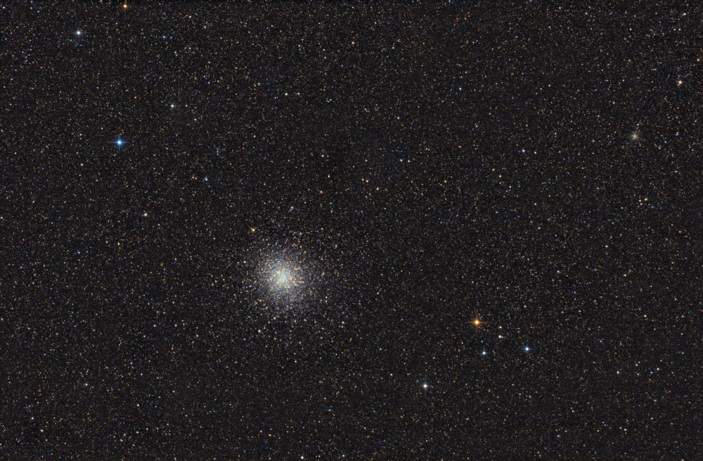 Globular clusters M22 & NGC6642