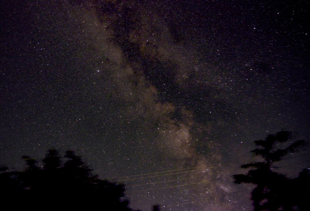 August and Milky Way