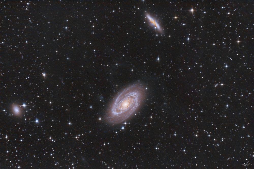 M81 Bode galaxy & M82 Cigar galaxy