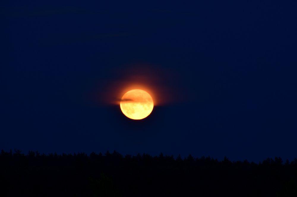 Восход Луны. Медвежья Пустынь