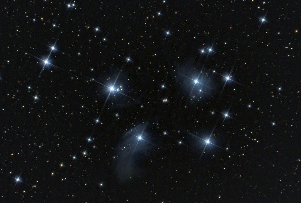 Рассеянное скопление Плеяды - M45