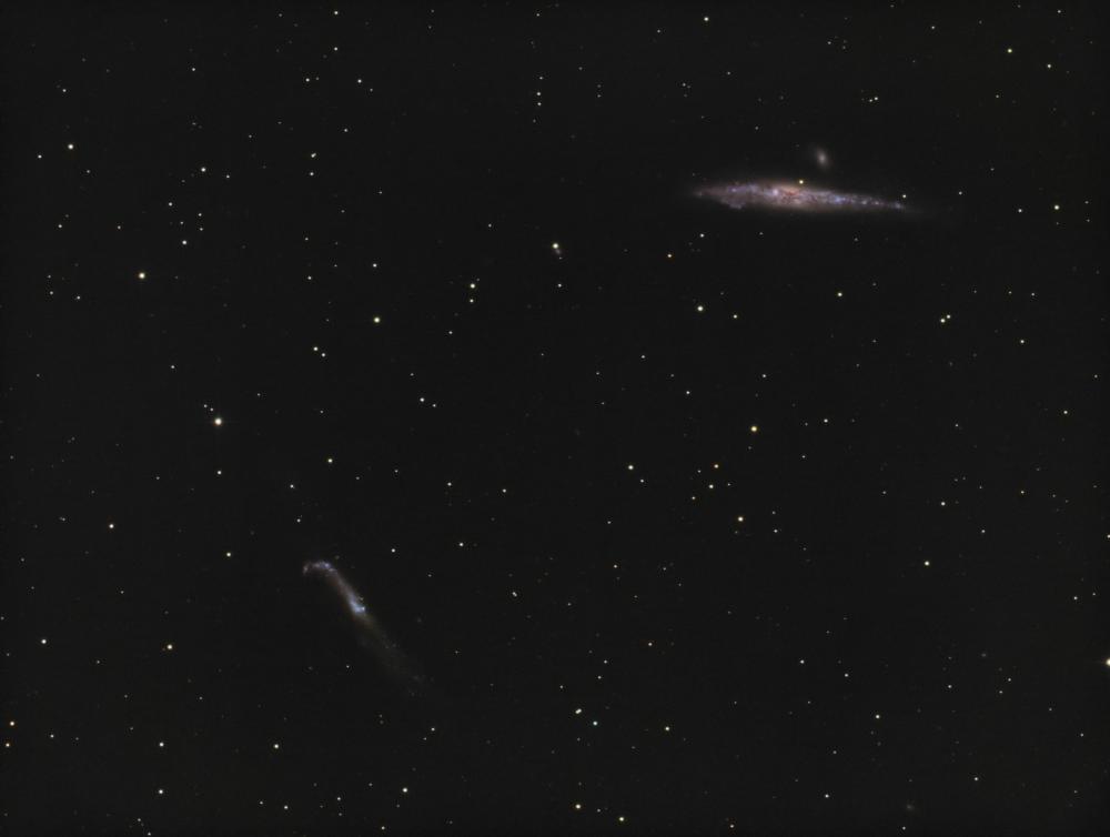 NGC 4657 NGC 4631