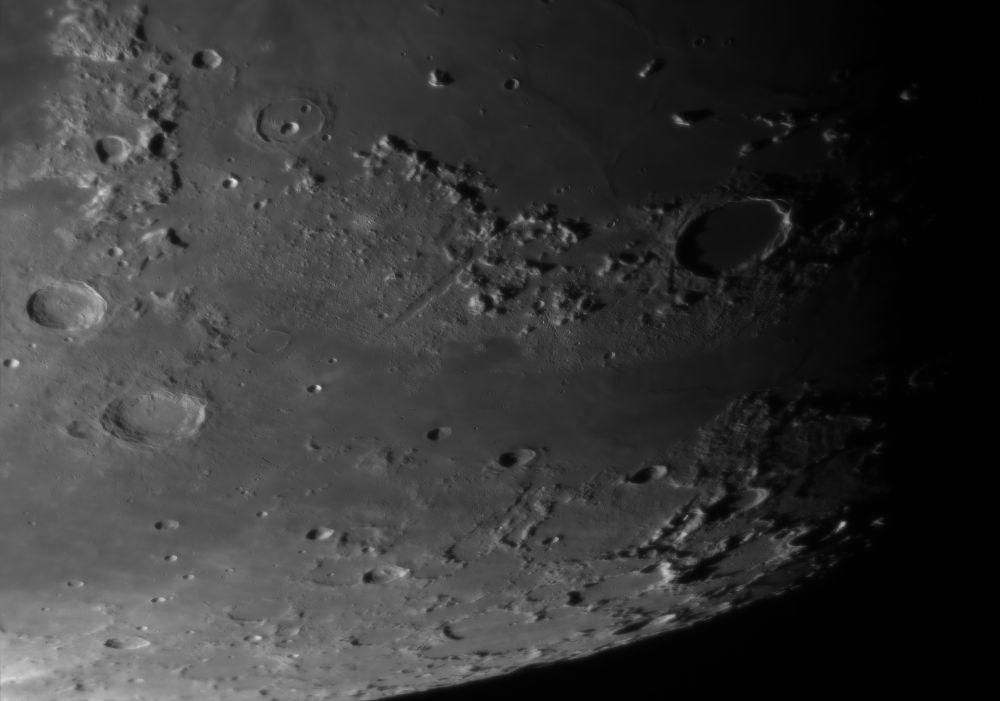 Plato crater, Montes Alpes, Vallis Alpes, Montes Tenerife 01.05.2020