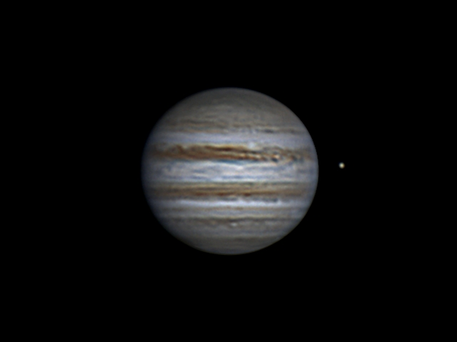 Jupiter and Europa (24 apr 2015, 21:18, UTC+3)