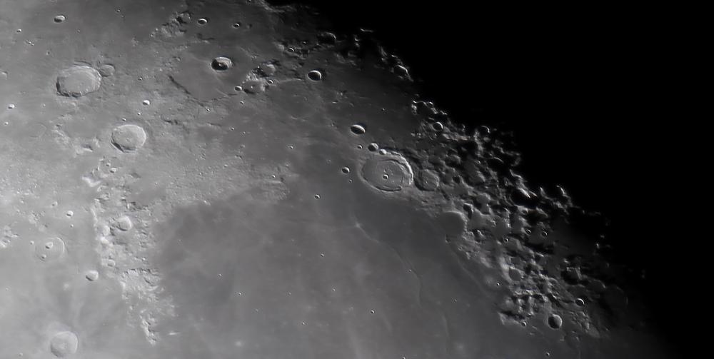 Регион ударного кратера Посидоний.