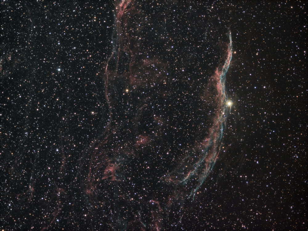 NGC 6990 Ha+OIII R G B