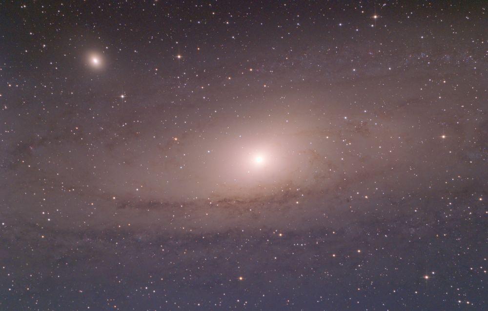 M31 - Туманность Андромеды. Центральная часть.