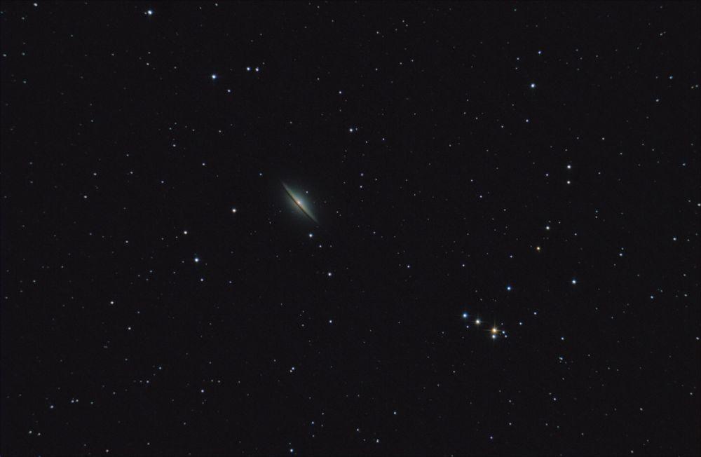 M104. Галактика Сомбреро.