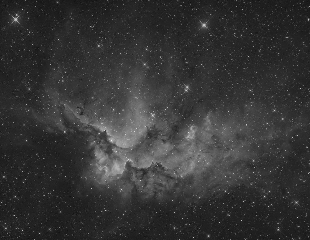 NGC 7380 (also known as the Wizard Nebula)