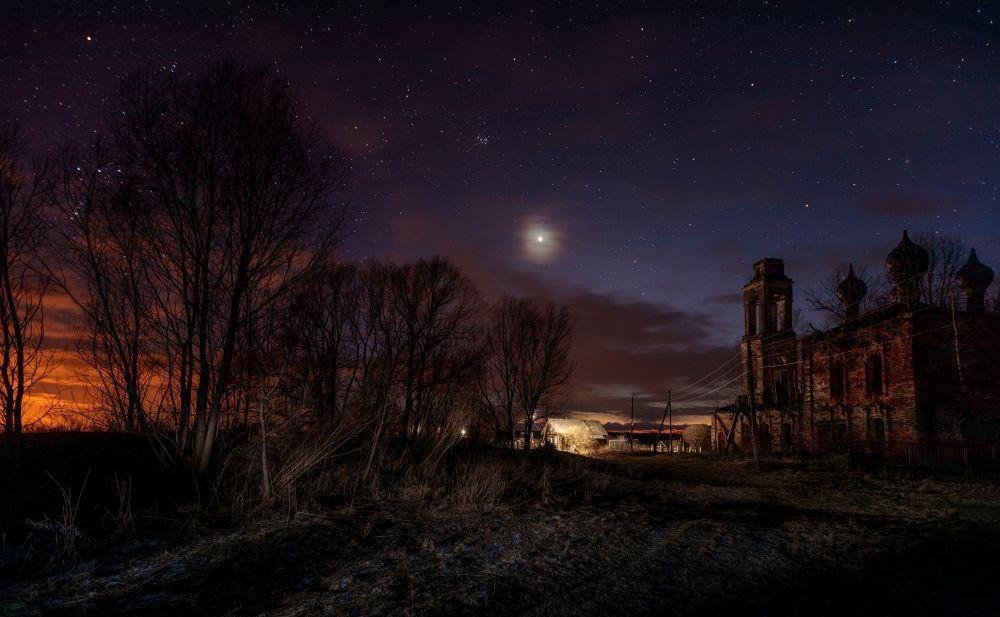 Венера и село Сырнево.
