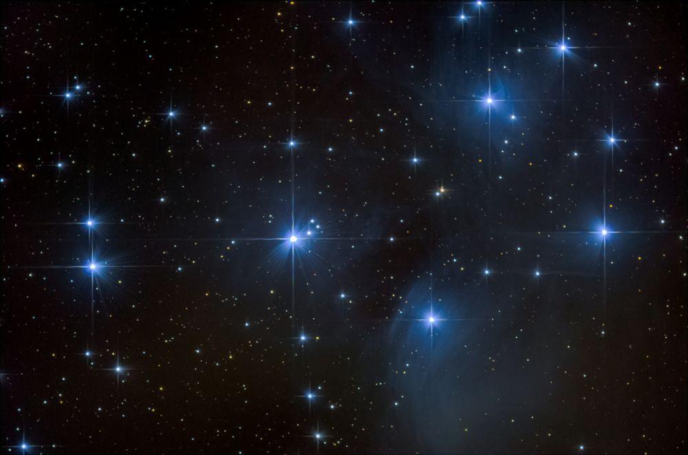 M45. Плеяды.