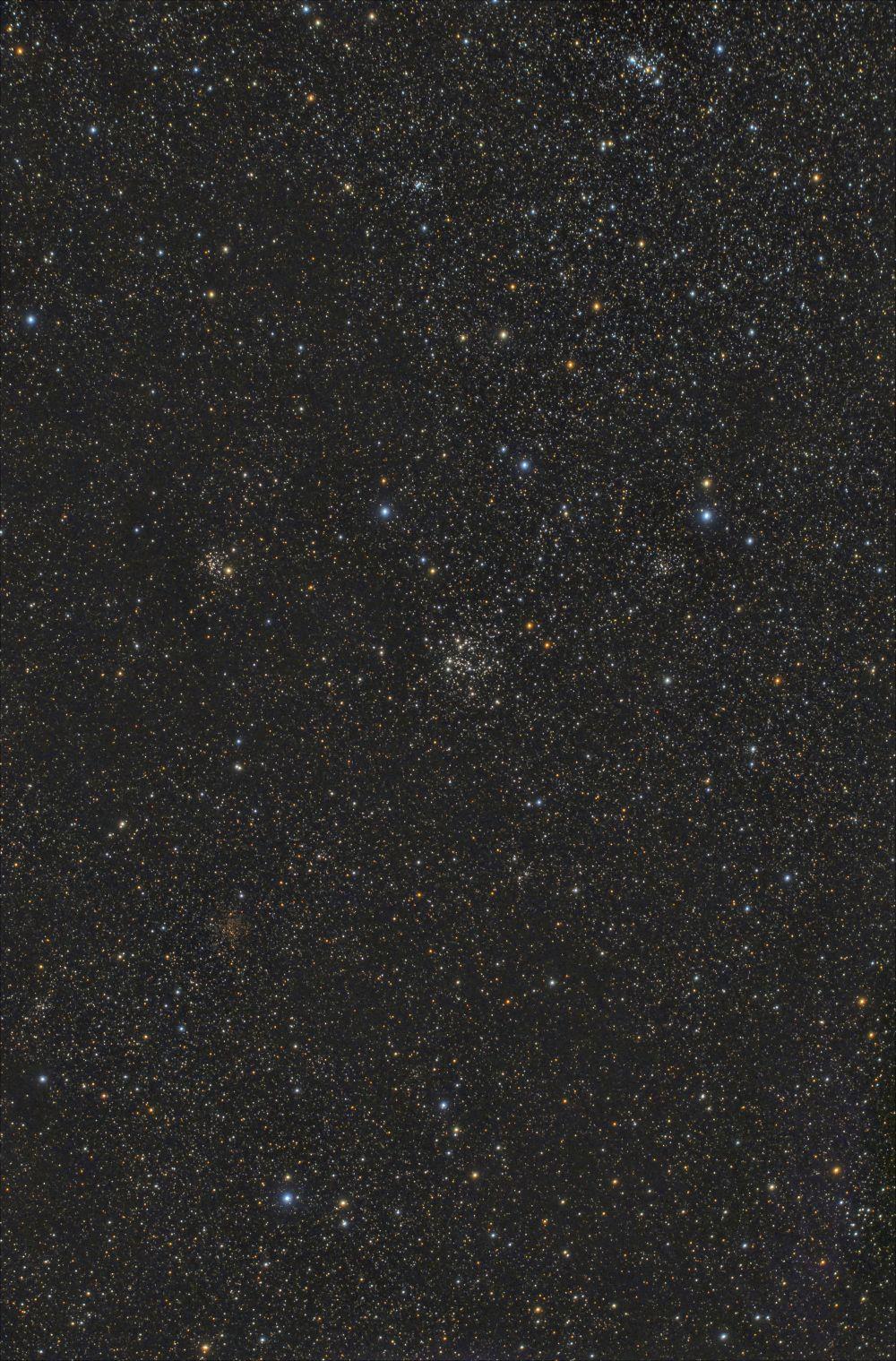 NGC 663 и его окрестности