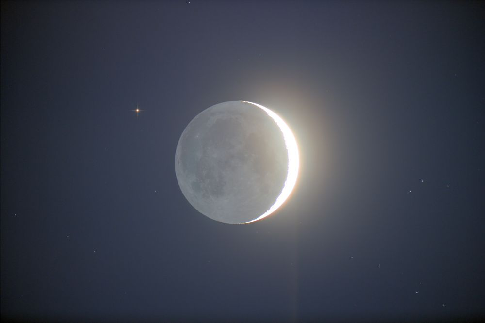 Moon & Aldebaran & Hyades