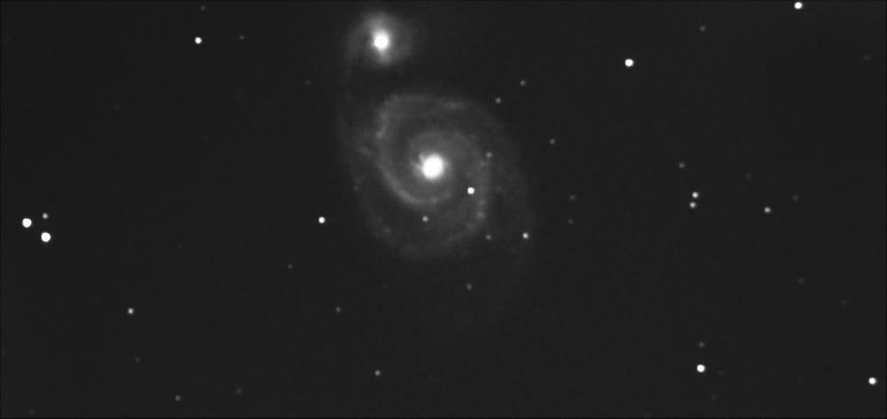 Галактика Водоворот. 05.08.2021