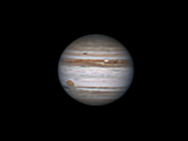 Jupiter without a belt. 29 aug 2010, 2:33