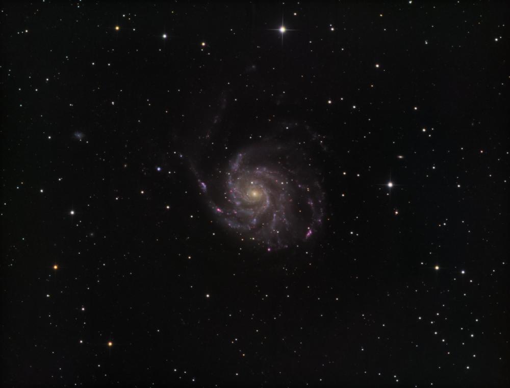 M 101 Pinwheel Galaxy