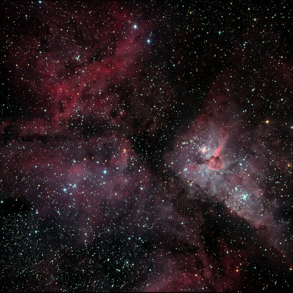 NGC 3372 (Туманность Киля)