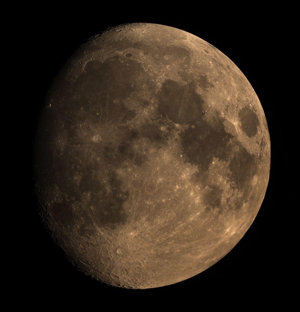 Луна 21.09.2018 мозайка