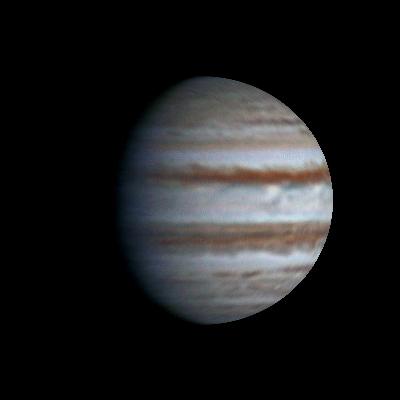 Flying around Jupiter, 2014-03-20, 20:31-21:03