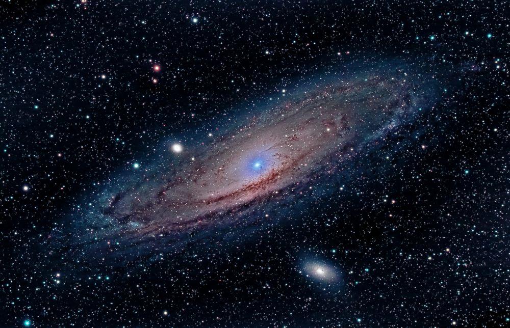 M31 - The Andromeda Galaxy Reprocess