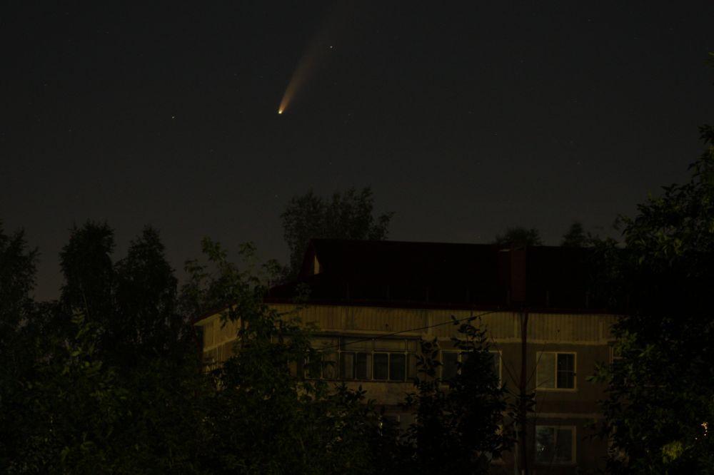 Комета NEOWISE