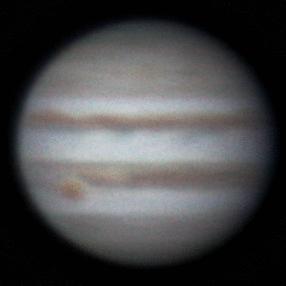 Rotation of Jupiter, 15 oct 2013, 7:11-7:33