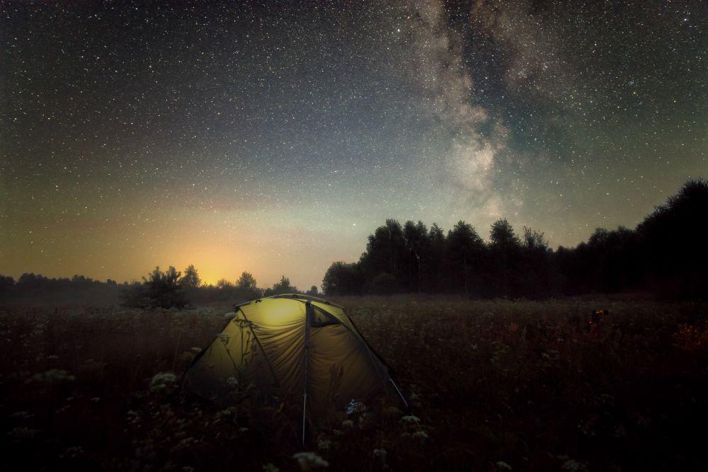 Ночь охоты за C/2020 F3 NEOWISE