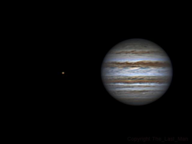 Jupiter and Io (04 feb 2015, 23:15)