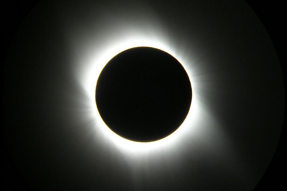 Полное солнечное затмение 2008г.