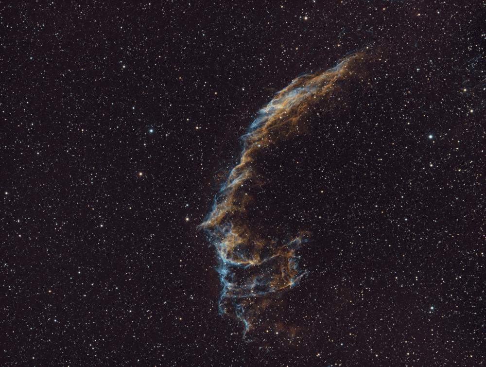 NGC 6992 Ha_Ha+OIII_OIII - астрофотография