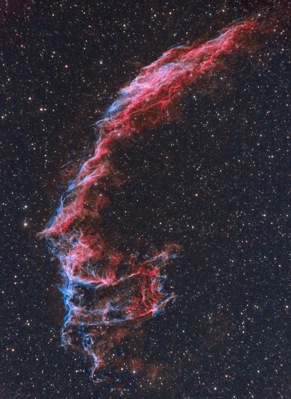 NGC6992 Восточная вуаль