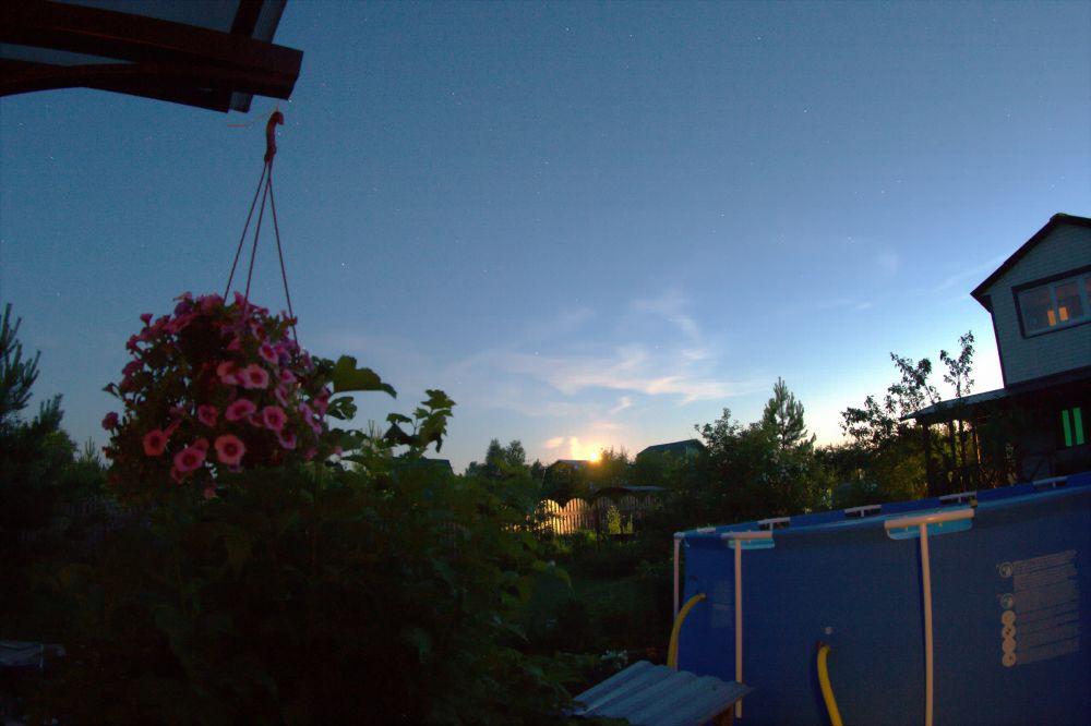 Не серебристые облака :)