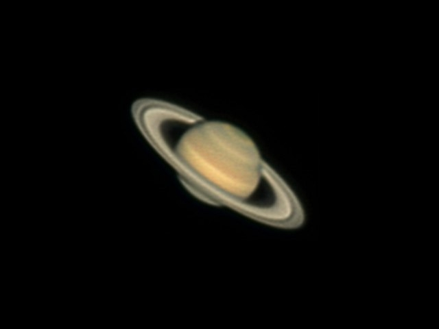 Saturn with Dob 12