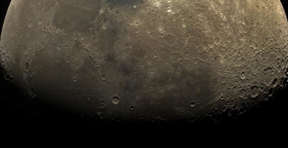 Moon panorama (26 june 2015, 21:00)