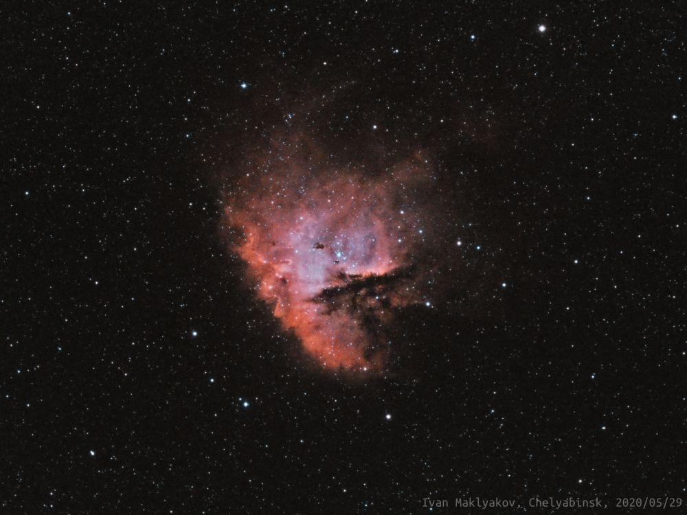 Туманность Пакман (NGC281).