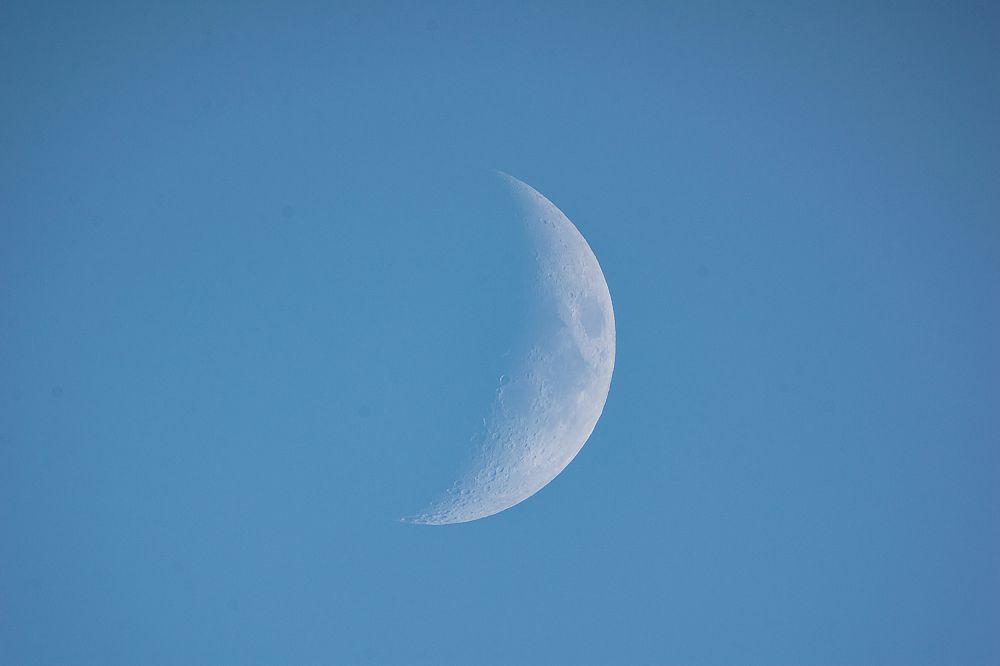 Вечерняя Луна
