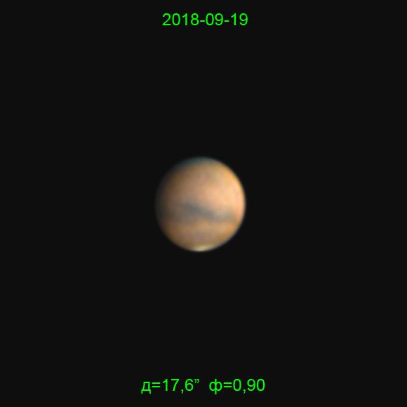 Mars 19.09.2018