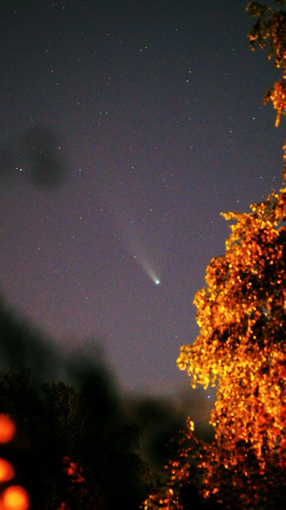 Комета c/2020 F3 (NEOWISE). 23.07.2020