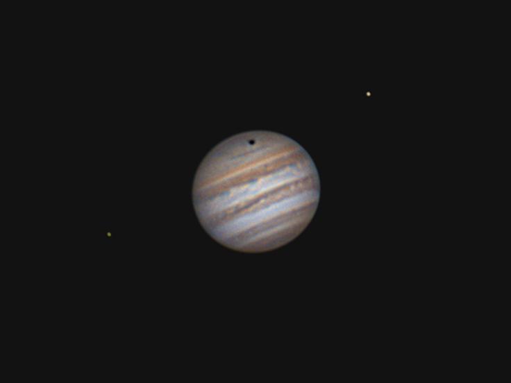 Jupiter & Ganymede Shadow 20.05.2017