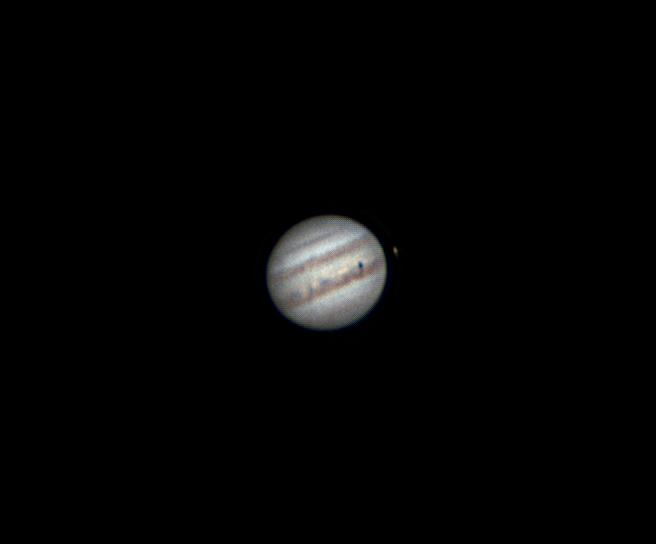 Юпитер и Ио. 18.08.2020