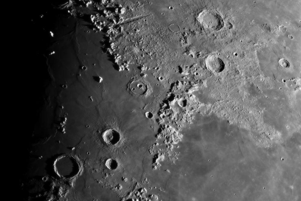 2018.02.23 Moon (Vallis Alpes, Montes Alpes, Montes Caucasus, Aristoteles, Eudoxus, Aristillus, Cassini)